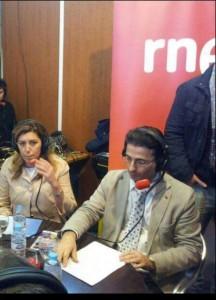 Cabrera con Susana